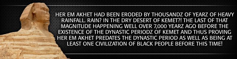 Her Em Akhet vs  the Sphinx: The Riddle of the Sphinx Pt 2 :|